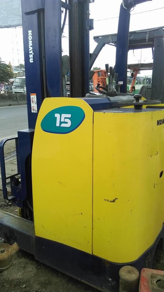Xe nâng điện Komatsu 1,5 tấn