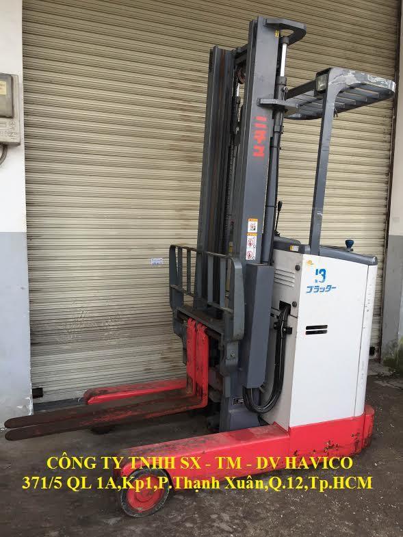 Xe Nâng Điện Đứng Lái FBRA13-60-400